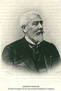 Georges Masson – The first President of the International Publishers Congress