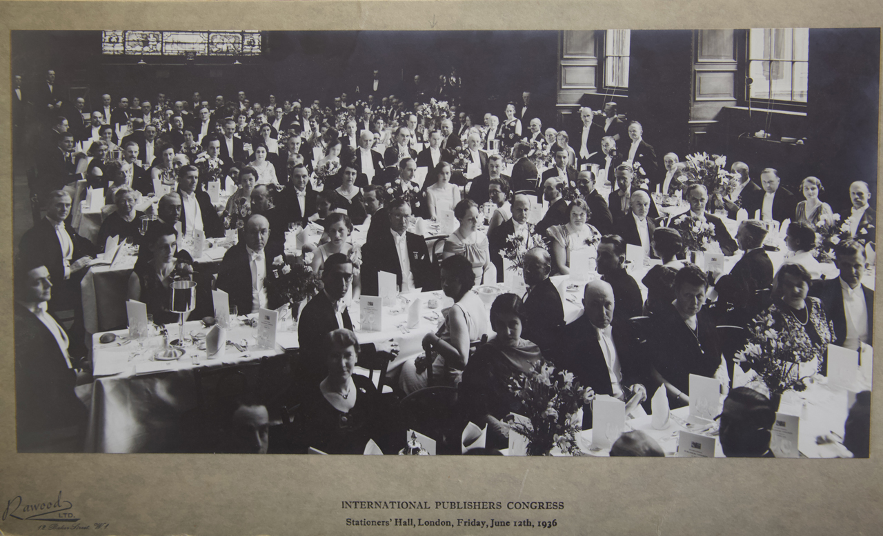 Attendees at the 1936 Congress, Photo of Stanley Unwin