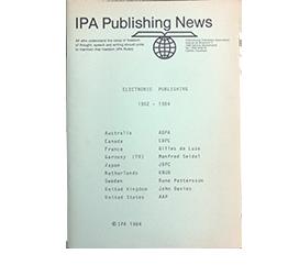 IPA Publishing News 1984