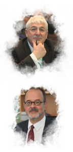 IPA President, Richard Charkin (UK). IPA Secretary General, José Borghino.