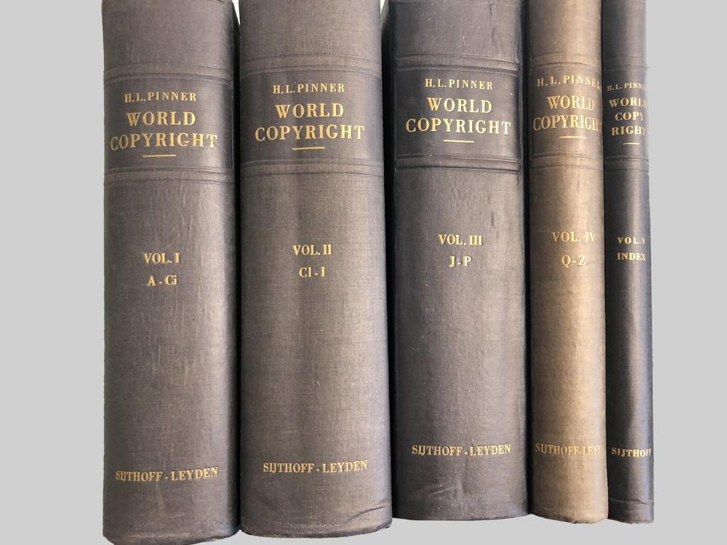 World Copyright Volumes I-V